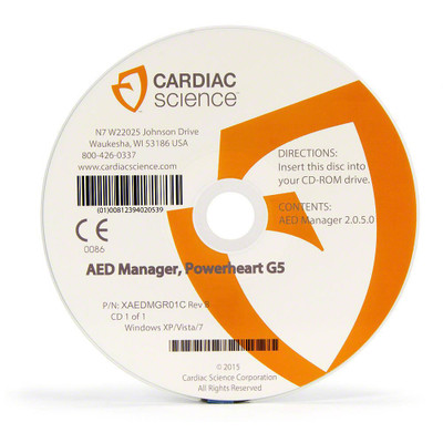 Cardiac Science Powerheart® G5 AED Manager XAEDMGR01A