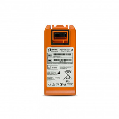 Cardiac Science Powerheart G5 AED intellisense battery XBTAED001A
