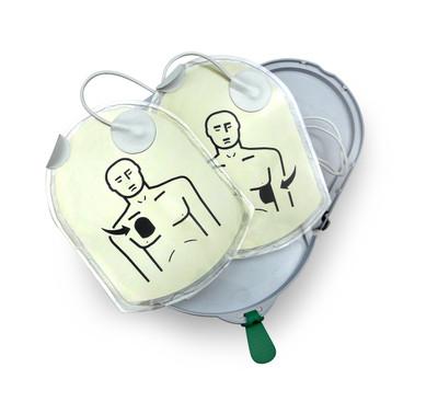 HeartSine 350P, 360P, 450P AED Adult Pad-Pak  (Electrodes+Battery)