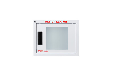 Alarm AED Wall Cabinet fits all AEDs