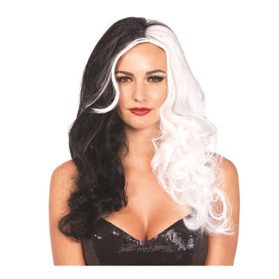 2 Tone Villainess Wig