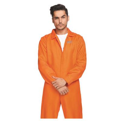 Orange Prison Jumpsuit - Men's