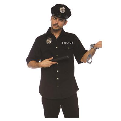 Men's Police Shirt - 4 Piece Set