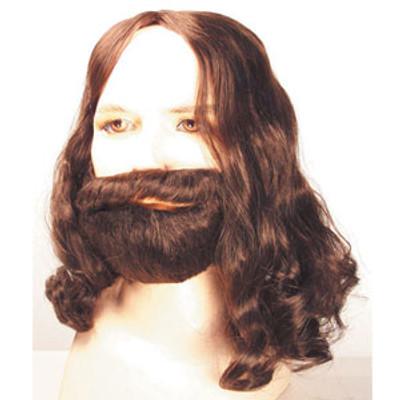 Biblical Wig and Beard Set - Economy Alternate