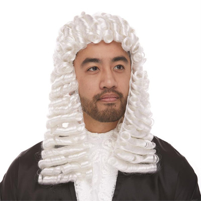 Curly Judge Wig