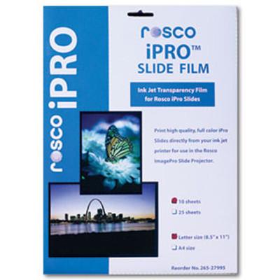Rosco Ipro Slide Film-10 Sheets