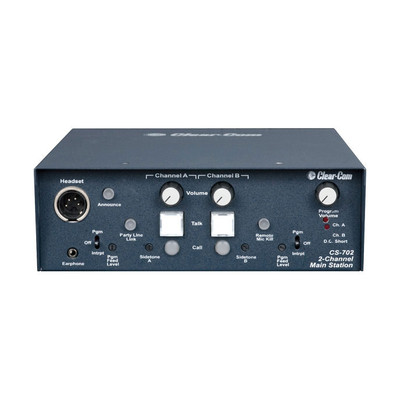 Clear-Com Encore 2-Channel Portable Headset Main Station