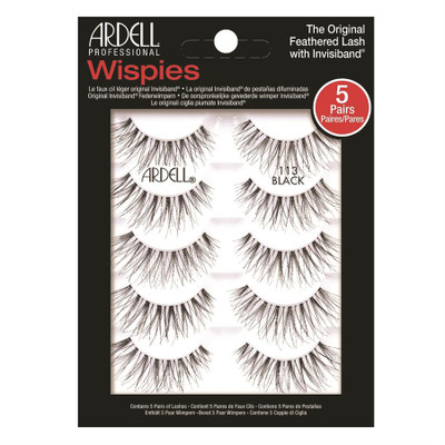 Ardell Professional Wispies 113 Black - 5 Pack