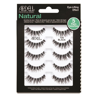 Ardell Professional Natural 120 Black - 5 Pack