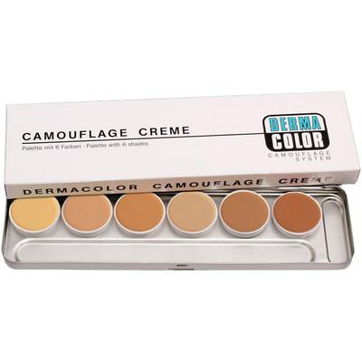 Kryolan Dermacolor Camouflage Cream Palette 6 Colors - M
