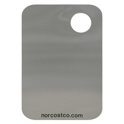 "Norcostco Metal Palette 3 7/8"" x 5 7/8"""