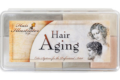 Hair Illustrator Hair Aging Palette