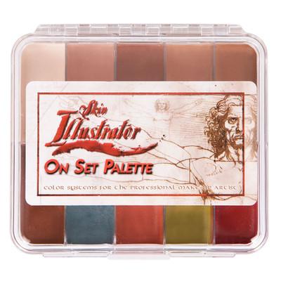 Skin Illustrator On Set FleshTone Palette