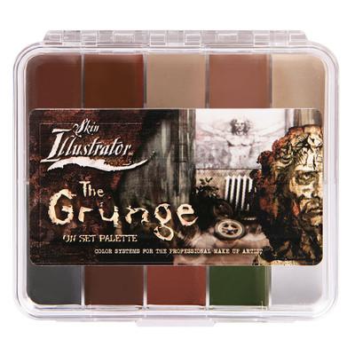 Skin Illustrator On Set Grunge Palette