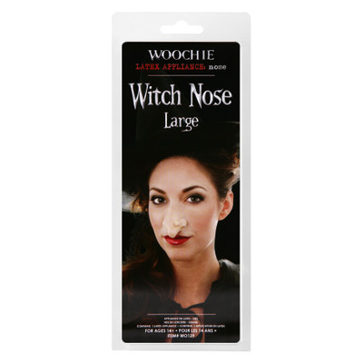 Woochie Large Witch Nose Latex Appliance