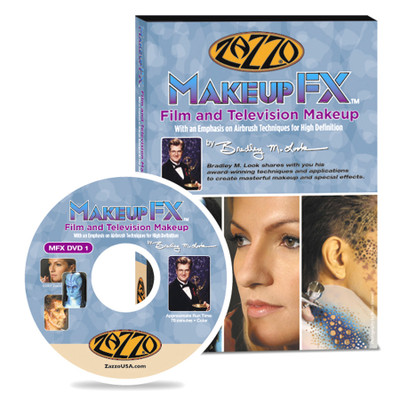 Zazzo Makeup FX Film and Television Makeup DVD