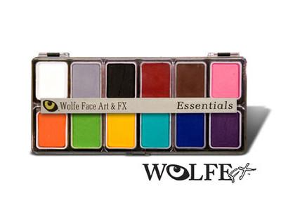 Wolfe Appetizer 12 Essential Colors Palette