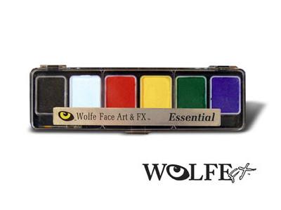 Wolfe Appetizer 6 Essential Colors Palette