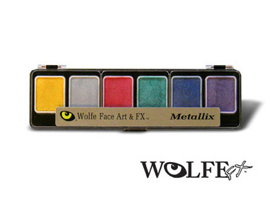 Wolfe Appetizer 6 Metallix Colors Palette