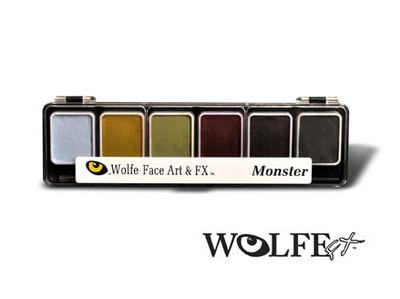 Wolfe Appetizer 6 Monster Colors Palette