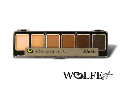 Wolfe Appetizer 6 Skinz Colors Palette