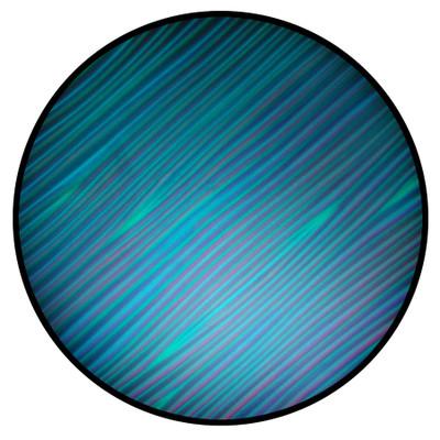 Cyan Strands - Rosco ColorWave #33204