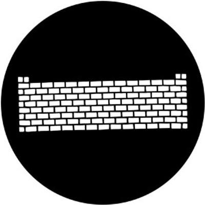 Brickwall - Rosco Gobo #77719
