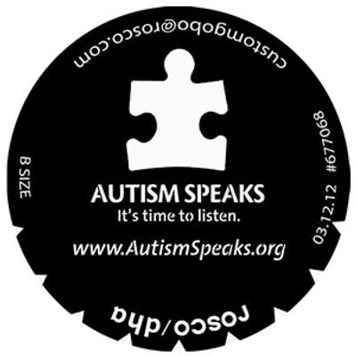 Autism Speaks - Rosco Gobo #677068