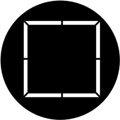 Square - Rosco Gobo #71050