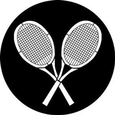Anyone for Tennis - Rosco Gobo #76522