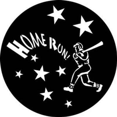 Baseball - Rosco Gobo #76524