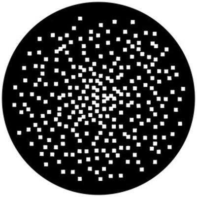 Random Pixels - Rosco Gobo #76559