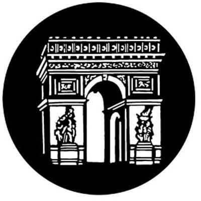 Arc de Triomphe - Rosco Gobo #77304
