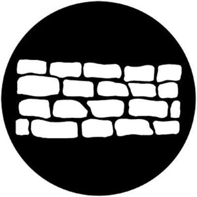 Stone Wall - Rosco Gobo #77519