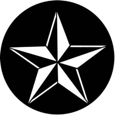 3D Star - Rosco Gobo #77598