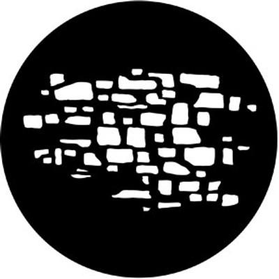 Stone Wall 2 - Rosco Gobo #77618