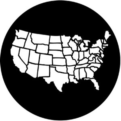 America - Rosco Gobo #77877