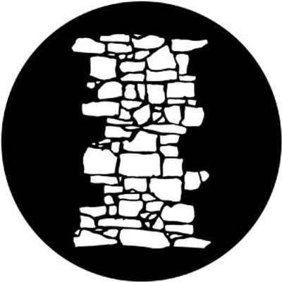 Dry Stone Wall 1 - Rosco Gobo #77950