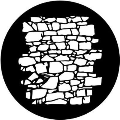Dry Stone Wall 2 - Rosco Gobo #77951