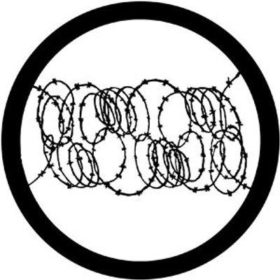 Barbed Wire 2 - Rosco Gobo #78031