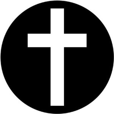 Plain Cross - Rosco Gobo #78061