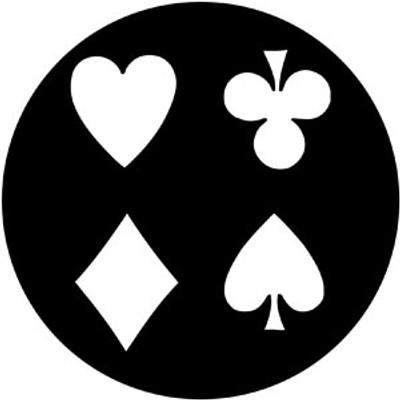 Cards - Rosco Gobo #78097