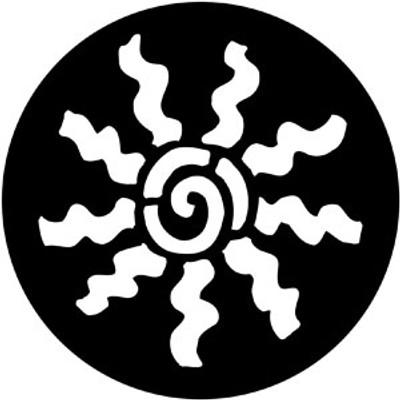 Abstract Cartwheel - Rosco Gobo #78166