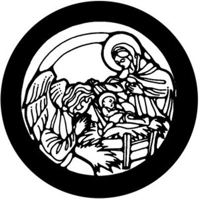 Nativity - Rosco Gobo #78393