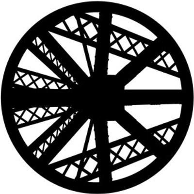 Abstract Truss - Rosco Gobo #78465