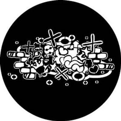 Abstract Graffitti 2 - Rosco Gobo #78605