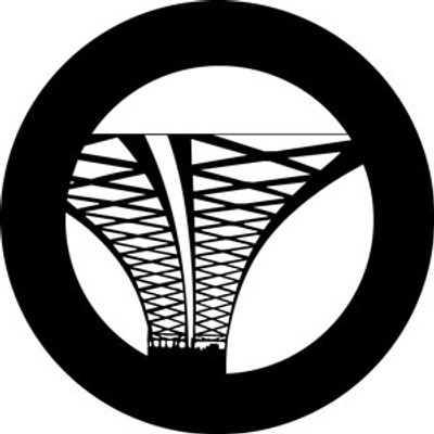 Abstract Suspension - Rosco Gobo #78616