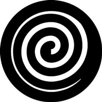 Open Spiral Inverse - Rosco Gobo #78684