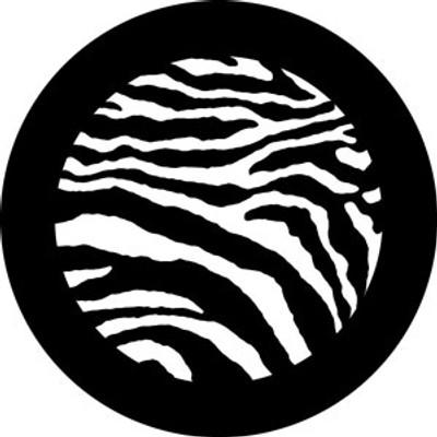 Zebra Print 3 - Rosco Gobo #78746