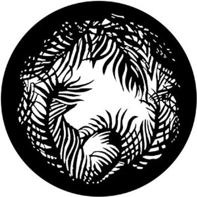 Jungle Vignette - Rosco Gobo #79111